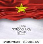 vector illustration of happy... | Shutterstock .eps vector #1139083529