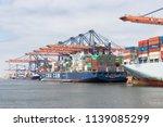 rotterdam  the netherlands  ... | Shutterstock . vector #1139085299