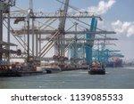 rotterdam  the netherlands  ... | Shutterstock . vector #1139085533
