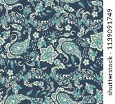 floral seamless pattern with...   Shutterstock . vector #1139091749