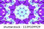 geometric design  mosaic of a... | Shutterstock .eps vector #1139109929