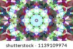 geometric design  mosaic of a... | Shutterstock .eps vector #1139109974