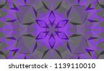 geometric design  mosaic of a... | Shutterstock .eps vector #1139110010