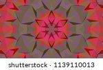 geometric design  mosaic of a... | Shutterstock .eps vector #1139110013