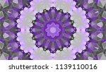 geometric design  mosaic of a... | Shutterstock .eps vector #1139110016