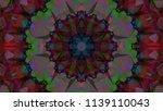 geometric design  mosaic of a... | Shutterstock .eps vector #1139110043