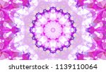 geometric design  mosaic of a... | Shutterstock .eps vector #1139110064