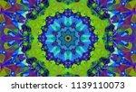 geometric design  mosaic of a... | Shutterstock .eps vector #1139110073