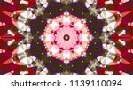 geometric design  mosaic of a... | Shutterstock .eps vector #1139110094