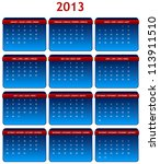 2013 International Calendar In...