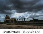 captured this picture in hampi. ... | Shutterstock . vector #1139124170