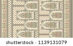 traditional  textile background ... | Shutterstock . vector #1139131079