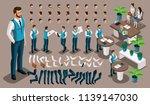 isometric vintage background ... | Shutterstock .eps vector #1139147030