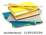 idea of exam classroom subject | Shutterstock . vector #1139155154