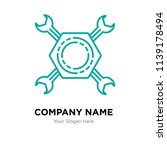 tools company logo design... | Shutterstock .eps vector #1139178494