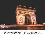 in paris france | Shutterstock . vector #1139182520
