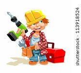 under construction 01 | Shutterstock .eps vector #113918524
