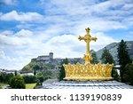 Sanctuary Of Lourdes. Dome Of...