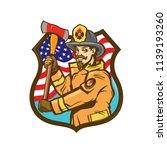American Firefighter  Fireman...