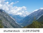 mountain landscape  in the... | Shutterstock . vector #1139193698