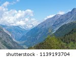 mountain landscape  in the... | Shutterstock . vector #1139193704
