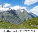 mountain landscape  in the... | Shutterstock . vector #1139193734