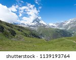 mountain landscape  in the... | Shutterstock . vector #1139193764