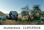 prospectors mine mounted on a... | Shutterstock . vector #1139195018