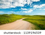 road through the balck hills in ... | Shutterstock . vector #1139196539