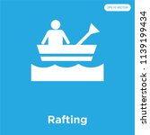 rafting vector icon isolated on ... | Shutterstock .eps vector #1139199434