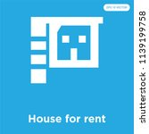 house for rent vector icon... | Shutterstock .eps vector #1139199758