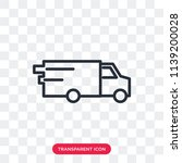 van vector icon isolated on... | Shutterstock .eps vector #1139200028