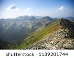summer hike in the slovakia... | Shutterstock . vector #1139201744