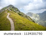 summer hike in the slovakia... | Shutterstock . vector #1139201750