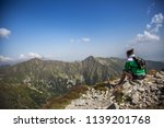 summer hike in the slovakia... | Shutterstock . vector #1139201768