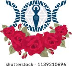 vector illustration for wiccan... | Shutterstock .eps vector #1139210696