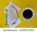 brazilian stuffed tapioca and... | Shutterstock . vector #1139211563
