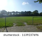 dutch soccer field and sports... | Shutterstock . vector #1139237696
