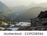 high altitude toilet in mount... | Shutterstock . vector #1139238566