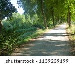 dutch path   lane bolsward ... | Shutterstock . vector #1139239199