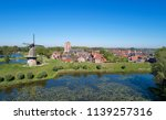 view with drone of the fortress ... | Shutterstock . vector #1139257316