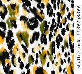 Stock photo animal print leopard texture background 1139258399