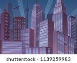 illustration of cartoon... | Shutterstock .eps vector #1139259983