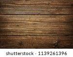 wood rustic texture and dark...   Shutterstock . vector #1139261396
