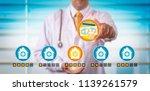 medical superintendent... | Shutterstock . vector #1139261579