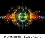 wave function series.... | Shutterstock . vector #1139271140