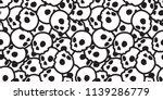 skull seamless halloween vector ...   Shutterstock .eps vector #1139286779