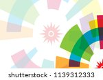 colorful background for asian... | Shutterstock .eps vector #1139312333
