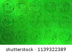 green smile symbols  cyberspace ...   Shutterstock . vector #1139322389