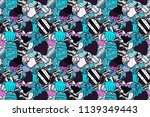 sweet for textile  cards  web...   Shutterstock . vector #1139349443